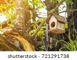 The Small Bird Wooden House Is...