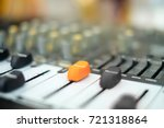 tube and solid state studio... | Shutterstock . vector #721318864