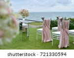 wedding setup | Shutterstock . vector #721330594
