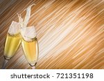 toast champagne  flutes    Shutterstock . vector #721351198