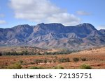 The Flinders Ranges In South...