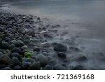 a dreamlike beach | Shutterstock . vector #721369168