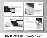 business templates for... | Shutterstock .eps vector #721374229