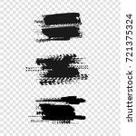 tire tracks print texture.... | Shutterstock .eps vector #721375324