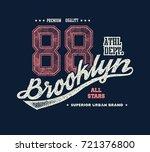 vintage urban typography  t...   Shutterstock . vector #721376800