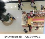ground floor view of mall from... | Shutterstock . vector #721399918