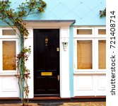 notting hill in london england... | Shutterstock . vector #721408714