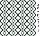 wallpaper baroque  damask....   Shutterstock .eps vector #721418884