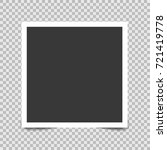 square frame template with... | Shutterstock .eps vector #721419778