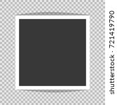 square frame template with... | Shutterstock .eps vector #721419790