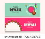 creative website header or... | Shutterstock .eps vector #721428718