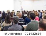 business and entrepreneurship... | Shutterstock . vector #721432699