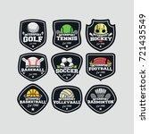 9 inter sport logo vector | Shutterstock .eps vector #721435549