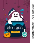 halloween illustration | Shutterstock .eps vector #721436950