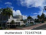 cityscape of guam   guam usa  ... | Shutterstock . vector #721437418