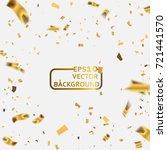 celebration background template ... | Shutterstock .eps vector #721441570