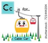 letter c cute children colorful ...