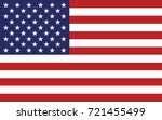 united states of america flag | Shutterstock .eps vector #721455499