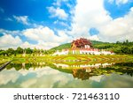 the royal flora ho kum loung in ... | Shutterstock . vector #721463110