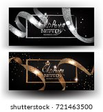 elegant vip invitation cards... | Shutterstock .eps vector #721463500