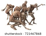 3d Illustration Of A Monsters...