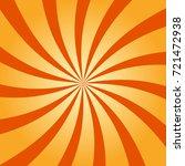 abstract retro swirling radial...   Shutterstock .eps vector #721472938