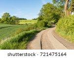 Country Lane Running Through...