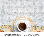infograph background template... | Shutterstock .eps vector #721479298