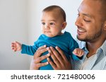 portrait of loving young man... | Shutterstock . vector #721480006