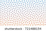 red and blue stars. abstract... | Shutterstock .eps vector #721488154
