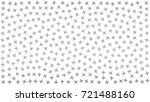 gray  stars. abstract four... | Shutterstock .eps vector #721488160