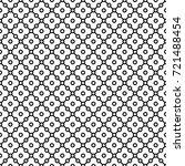 Black Patterned Net Lace On...