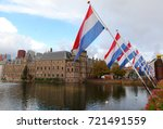the hague parliament building... | Shutterstock . vector #721491559