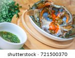 crab fermented   pu dong   with ... | Shutterstock . vector #721500370