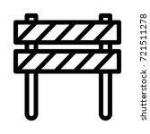 boundary icon | Shutterstock .eps vector #721511278