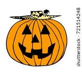 Colorful Halloween Design...