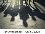 shadows and silhouettes of... | Shutterstock . vector #721521226