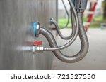 bathroom stainless steel sink... | Shutterstock . vector #721527550