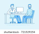 vector illustration in flat... | Shutterstock .eps vector #721529254