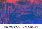 unique design abstract digital... | Shutterstock . vector #721530334
