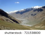 beautiful remote tajik national ... | Shutterstock . vector #721538830