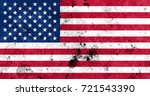flag of united states | Shutterstock . vector #721543390