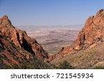 scenic desert landscape in big... | Shutterstock . vector #721545934