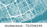 detailed vector map of detroit  ... | Shutterstock .eps vector #721546144