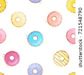 vector seamless pattern with... | Shutterstock .eps vector #721548790