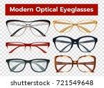 classic modern optical... | Shutterstock .eps vector #721549648