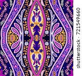 abstract geometric kaleidoscope ... | Shutterstock .eps vector #721549660
