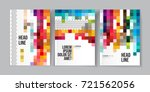 modern business brochure ... | Shutterstock .eps vector #721562056