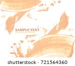 smudged liquid foundation...   Shutterstock . vector #721564360