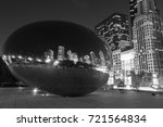 black and white photo of... | Shutterstock . vector #721564834